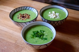 Pea Soup with Lemon & Pepper