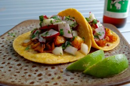 Curry Lime Shrimp Tacos