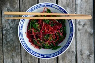 Sesame Ginger Kale